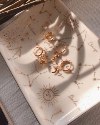Pack aritos Magic Gold